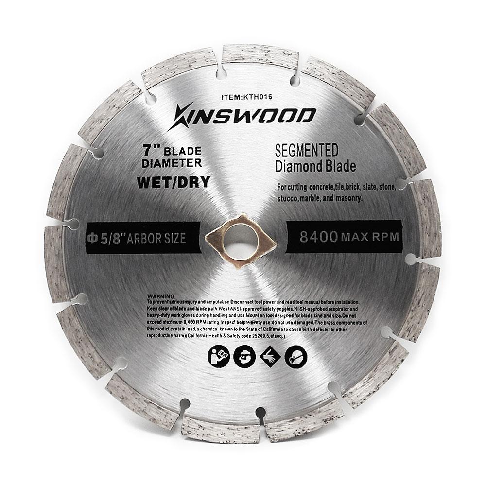 "Circular Saw Blade 4/"" Continous Rim Cut Diamond 1 pc for DeWalt SKIL /& Makita"