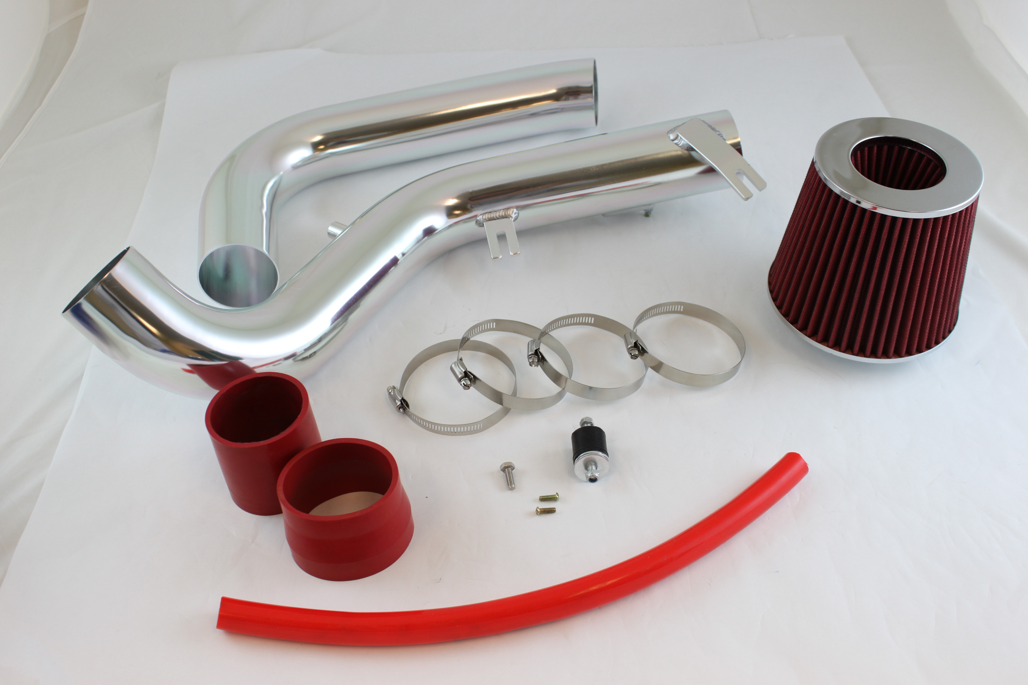 RED COLD AIR INTAKE INDUCTION KIT+DRY Filter 07-10 tC Coupe 2.4L L4