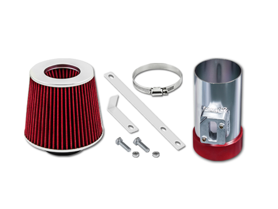Gsp Red Short Ram Air Intake Kit 04