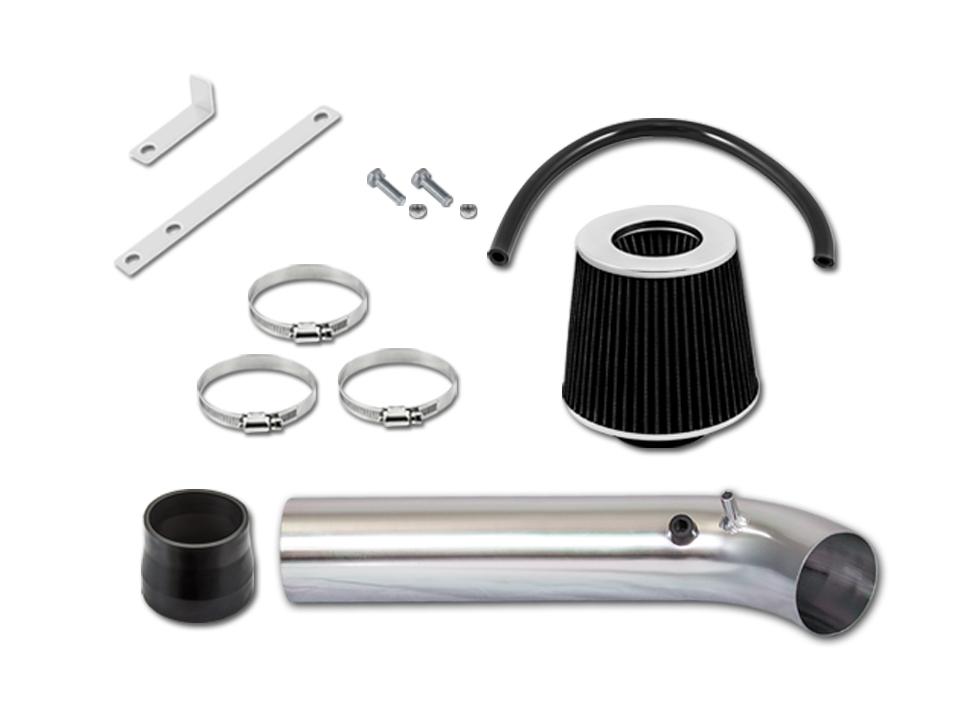 Matte Black//Red 96-98 Civic EX//HX 1.6L Short Ram Air Intake Induction Kit