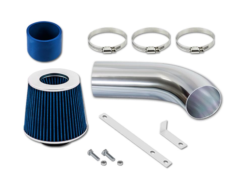 For 03-06 Chrysler PT Cruiser 2.4 GSP Black Short Ram Air Intake Kit Filter