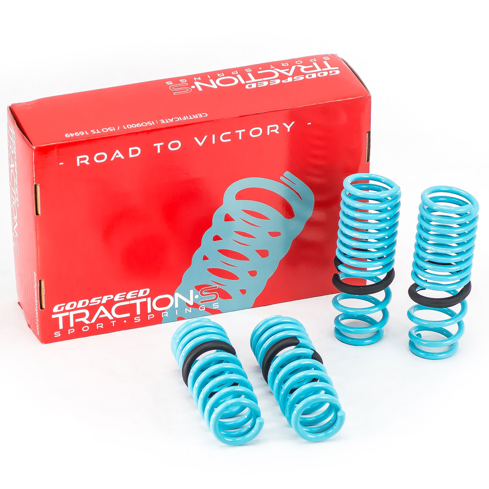 Godspeed Traction-S Lowering Springs For Acura RSX 2005