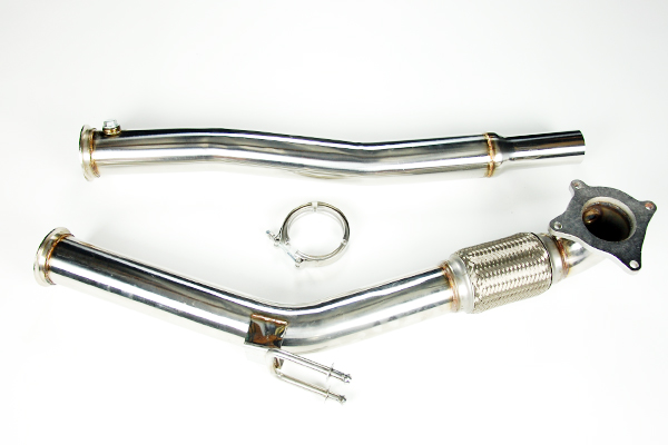 "3"" stainless downpipe down pipe golf gti jetta v vi a3 8p 2.0t tsi"